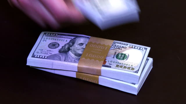 Stack of Cash video