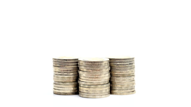 Stack of coins video