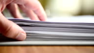 Stack of forms video