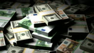 Stack of Money video