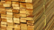 Stacks of wood video