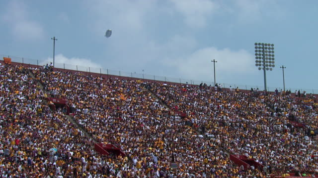 Stadium Crowd Angle video