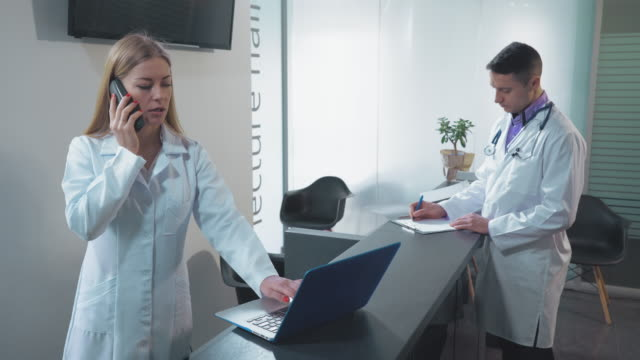 staff in clinic video