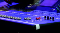 Stage audio control panel video