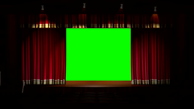 Stage Curtain Opening video