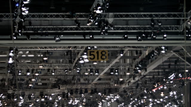 Stage lighting system video
