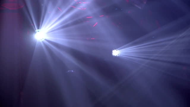 Stage Lights abstract background video