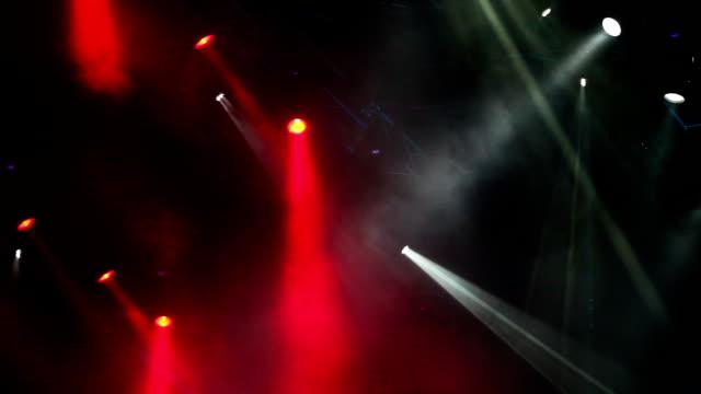 Stage lights video