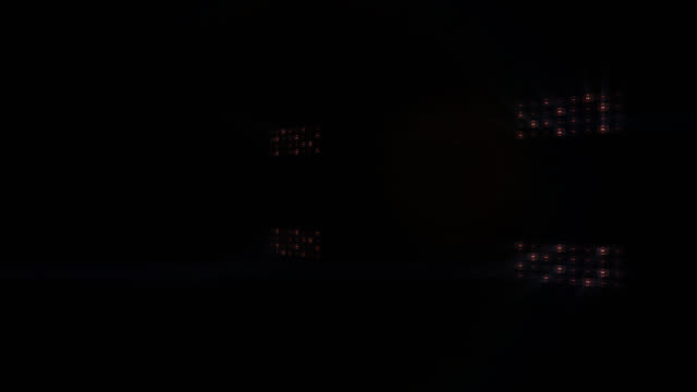 Stage lights, with sound. Cold. Square. video