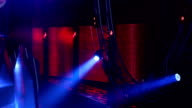 Stage With Spotlights video