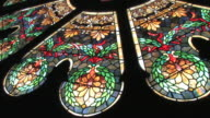 Stained Glass Window in HD video
