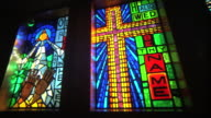 Stained glass windows video