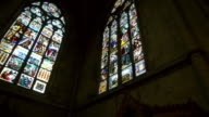 Stained-Glass Windows of Cathedral of the Immaculate Conception Neuer Dom in Linz video