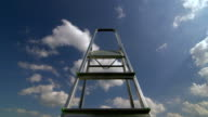 Stairs to the sky time-lapse video