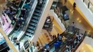 stairways stairs steps. escalator elevator. modern architecture. moving progress video