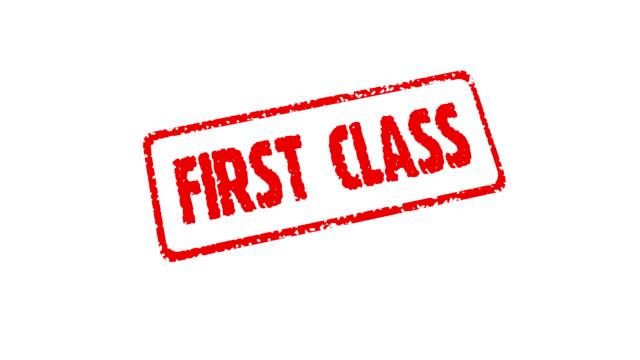 Stamp First Class (HD 25fps + Alpha) video