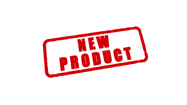 Stamp NEW PRODUCT video