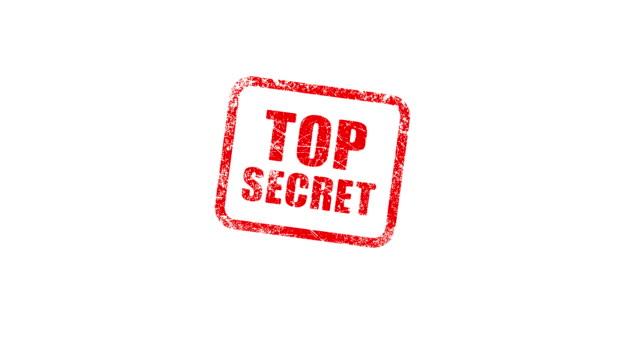 TOP SECRET stamp video