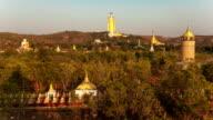 Standing Buddha Monywa Timelapse video