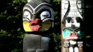 Stanley Park Totem Poles video