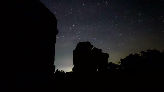 Star and night sky video