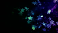 Star Background. Multicolored. Loopable. video