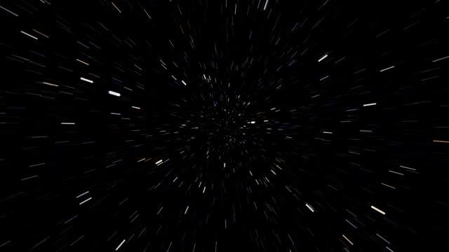 Star Field Warp/Hyperspace(loop) video