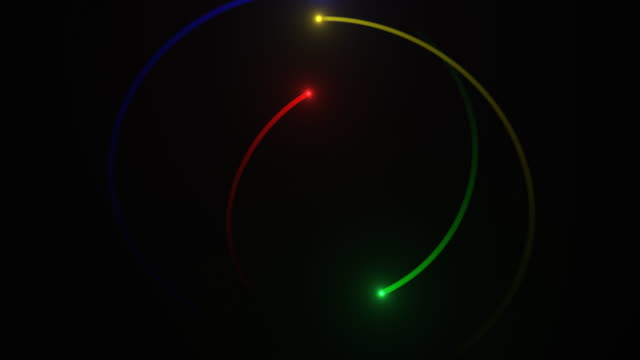 Star Formation: Comet Collision Nova RAINBOW video