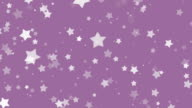 Star particles flickering in FullHD. video