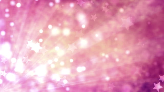 Star Pink Background (Loopable) video