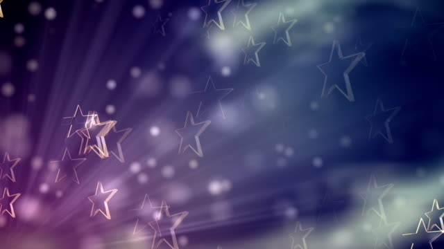 Star Purple Background (Loopable) video