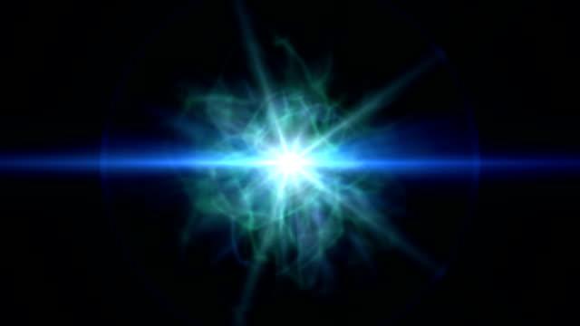star ray nebula clouds video