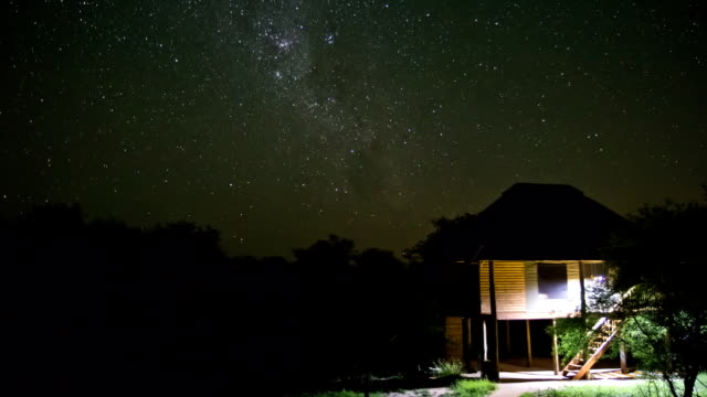 Star Time Lapse Kruger Park video