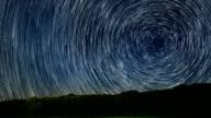 Star Trails Stunning Cosmos Polaris North Star video