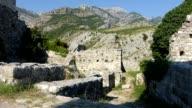 Stari Bar ruins in Montenegro video