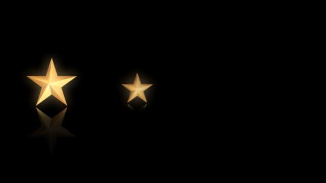 Stars 02 gold Five video