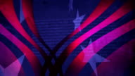 Stars And Stripes Background video