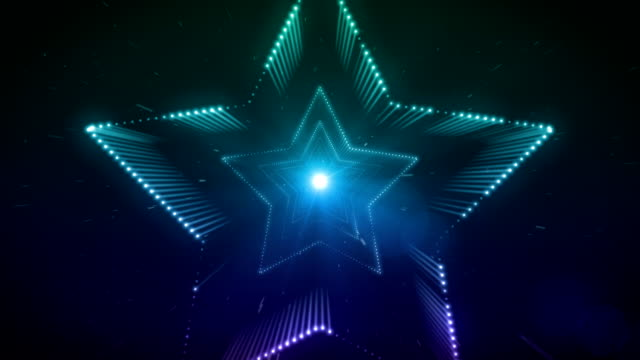 Stars Background Loop video