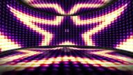 Stars Bulb Lights Room Background, Loop video
