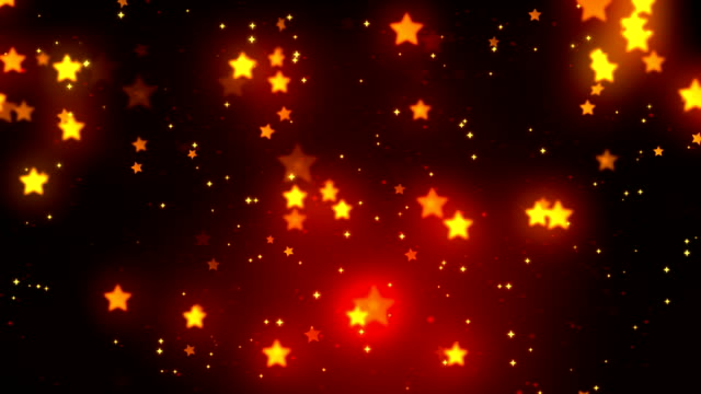 Stars Fall 2 Loopable Background video