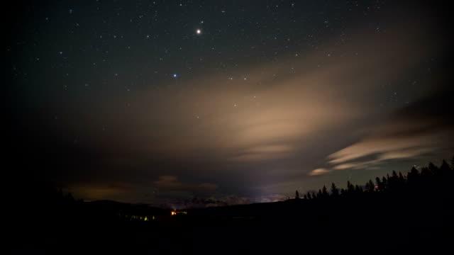 Stars Night Sky Time-Lapse video