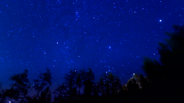 Stars over mountains video