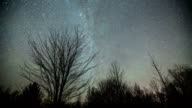 Stars Sky Night Time Lapse video