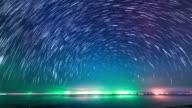 Stars time lapse 4K video