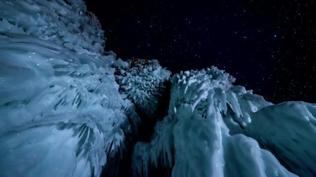 Stars time lapse video