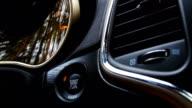 Start car engine. video