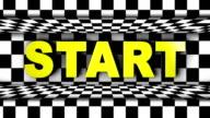 Start Text in Checker Door video