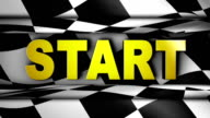 Start Text in Checker - HD1080 video