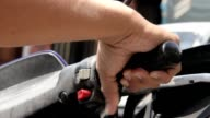 Starting And Revving Motorcycle Throttle video
