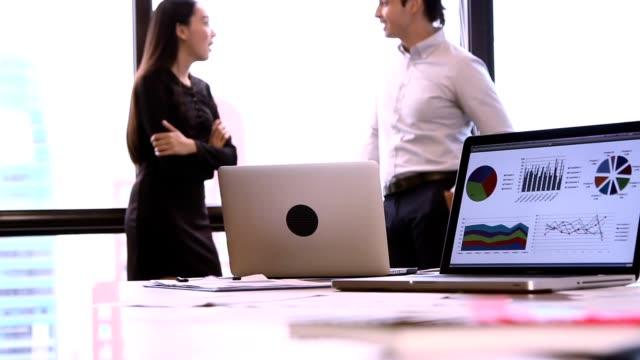 Start-up Meetings :Group Of Business people Meeting. video